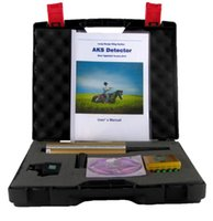 Wholesale Search Machine - 2017 Hot Sales Long Range AKS Gold Treasure Detector Diamond Detecting Machine Metal Detector Machinery + Free shipping