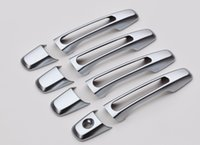 Wholesale chrome door handle cover bowls - Accessaries fit for Ford Explorer car-styling ABS chrome door handle and door bowl covers trim 2015 2016 2017