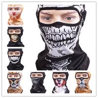 Wholesale Dog Veil - DHL free shipping 3D Cap Dog Animals Outdoor Sports Bicycle Cycling Motorcycle Masks Ski Hood Hat Veil Balaclava UV Full Face Mask