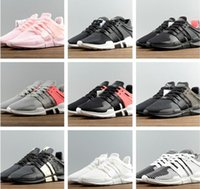 Wholesale Black Spikes Women Fashion Shoes - Hight Quality EQT Support ADV Running Shoes Fashion Running Sneakers For Men Women Turbo Red Black White Pink size US5.5-11 Free Shipping