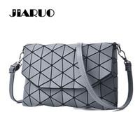 Wholesale Envelope Crossbody Purse - Geometric Leather Women Messenger bag 2017 Small Crossbody bag Handbag Bao Bao Women Clutch Bags Handbag and Purse