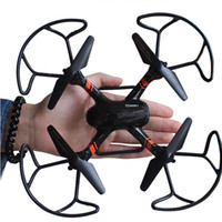 Wholesale Planes Fly - Hot selling gift mini 2.4G 4CH 4-Axis Drones Aircraft Rc Helicopter Plane Drone Quadcopter LED 360 Flying wifi drone