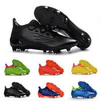 Wholesale Cheap Soccer Cleats Free Shipping - 2017 Wholesale X16.3 TPU FG hot Men's Soccer Shoe boots cheap original Performance Mens ace 16 soccer cleats football shoes Free Ship
