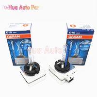 Wholesale D1s 35w Bulb - OSRAM D1S 5500K 12V 35W 66144 CBI Cool Blue Bi Xenon HID Bulb Headlight Original Car Light Source Auto Lamps