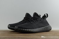 All Black Hollow Boost 350 V2 Kanye West Creme Weiß CP9366 Mens Womens Sneakers DA9572 Dark Green Hollow Laufschuhe mit Box