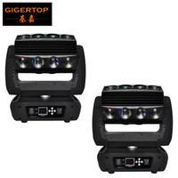 Wholesale full moving - Freeshipping 2XLot 16 Head Led Moving Head Spider Light Endless Rotation 16x25 High Power RGBW 4IN1 Beam Full Color LCD Display TP-L653