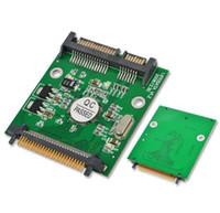 ssd sata 1,8 toptan satış-50pin 1.8 mikro IDE CF SATA 22 Pin Adaptörü Kompakt Flaş Tipi I / II 50pin için 2.5