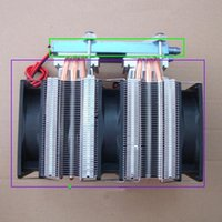 Wholesale Dual Core Machine - Wholesale- 12V 144W 172W 240W 288W DIY dual-core semiconductor chip electronic refrigeration Computer cold water machine Chiller kit