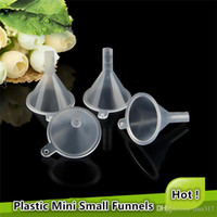 Wholesale fill tool - Newest Plastic Mini Small Funnel For tools bottle filling empty bottle Refillable Tool FREE Shipping 0617