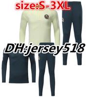 Wholesale America Suit Jacket - Top quality 17 18 America survetement jacket soccer Jersey Romero Goltz Miky A Peralta Romero Aguilar tracksuits Training suit