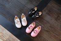 Wholesale Dancing Cow - Baby Girls Shoes 2017 spring new Kids flowers shoes girls Walking footwear Children Princess Shoe girls dance shoes 6209
