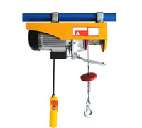 Wholesale Portable Electric Hoist kg V V HZ Mini Electric Wire Rope Hoist