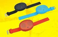 Wholesale Waterproof Watch Speaker - T1 Bluetooth Stereo Smart Wear Watches Speakers Sound Waterproof outdoor subwoofer Small For iphone samsung HTC Speakers
