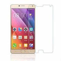 Wholesale Gionee Phones - Suitable for Gionee M5plus tempered glass film anti-fingerprint 0.26 mm arc edge 9H mobile phone film