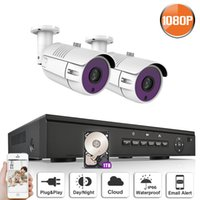 Wholesale udp dns - ANRAN P2P Plug and Play 1080P HD H.264 4CH POE NVR 36 IR Day Night Outdoor Waterproof FTP Security POE 2 IP Cameras CCTV System