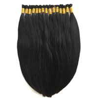 Wholesale Straight Brazilian Hair One Bundle - 8A Micro mini Braiding Hair Brazilian Bulk Hair For Braiding One Bundle Lot 100% Human Straight Brazilian Braiding Hair
