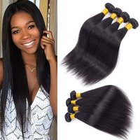 Wholesale hair extension machine for sale - Most Hot Sale Brazilian Straight Virgin Hair Bundle Deals 6 Bundles Remy Human Hair Extensions Unprocessed Double Hair Wefts Just for you