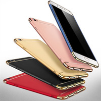 Wholesale Wholesale Champagne Cases - Hot Eletroplated phone case durable touch fashion PC Hard Cover Case For oppo R9 9plus 11 11plus case