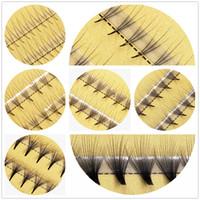 Wholesale Extension Y - Curl C 0.07mm 8-12mm Volume Grafting Y 2D W 3D 4D 5D 6D 10D 20D Individual Eyelashes False Eye Lashes Extension Fake Eyelash OEM Acceptable