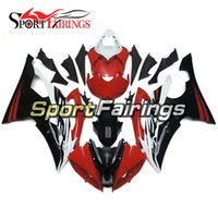 Red Black Matte Complete Fairings para Yamaha YZF600 R6 08 - 15 Ano 2008 2009 2010 2011 2015 Sportbike ABS Motorcycle Fairing Kit Bodywork