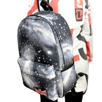 Wholesale Galaxy Pattern Backpack - Brand Genuine Quality Galaxy Pattern Canvas Bag Backpack School Bag Laptop Bag Printing Backpack Leisure Bags Women Backpack Yo
