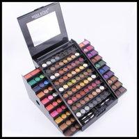Wholesale Multi Colored Eyeshadow - ORIGINAL AAA Quality Miss Rose Eyeshadow Makeup Palette 130 Full Color Eye Shadow Professional Multi-Colored Waterproof Beauty Eyeshadow