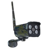 Wholesale 2mp Wireless Network Camera - ESCAM 2MP Network IR-Bullet Camera Day Night Waterprrof IP66 ONVIF 2.2 1080P Camouflage Wireless IP Camera Sentry QD900S