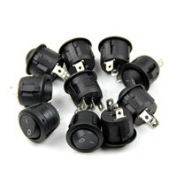 Almost Ready spdt rocker switch - Mini Round Black Pin SPDT ON OFF Rocker Switch Snap in