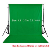 Wholesale 1 m ft Photo background Photography Backdrop Backgrounds Studio Video Nonwoven Fabric Green Scree