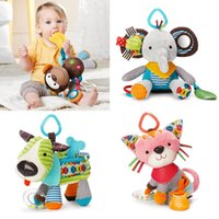 Wholesale Boy Crib Bedding Wholesale - Wholesale- Baby Activity & Gear Baby Toys Infant Rattles & Mobiles Educational Toys Boys Girls Stuffed Plush Animals Crib Bed Windbell