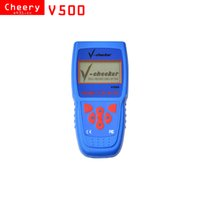 Wholesale 2017 V checker V500 Auto Code Reader EOBD OBD2 Scanner Scan Tool without BMW software