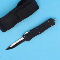 Wholesale Wholesale Pocket Knife Bag - DHL Shipping 2017 New 616 Auto Tactical Knife Titanium Snake Blade Knife Outdoor Camping Survival EDC Pocket knife with Nylon bag