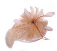 zarif şapkalar toptan satış-Zarif Gelin Aksesuarları Tüy Farklı Renk Popüler Gelin Düğün Şapka Güzel Düğün Malzemeleri Renkli Yeni Gelin Şapkaları