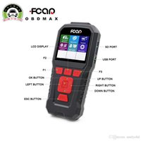 Wholesale Adapter Error - New diagnostic scanner FCAR F-50R one adapter for reading errors of diesel cars in Russian original FCAR F50R error reader