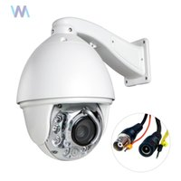 Wholesale Auto Tracking x mm Zoom TVL Analog Dome PTZ High Speed CCTV Security Camera Outdoor