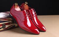 ingrosso i pattini vestono 13 uomini-Nuovo arrivo Mens White Dress Shoes Designer Fashion Tide Scarpe da sposa per uomo bianco Groom Party Shoes Plus Size 13 14 15