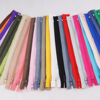 Wholesale Used Shoes For Wholesale - Crafter's Zippers Nylon Closed end Zipper Sewing apparel Coil Zippers Sewing Tools Can be used for Clothes Shoes Bag ,Can be customized