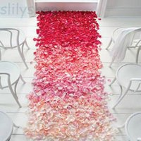 Wholesale Engagement Table - Wedding Events Decoration 1000pcs Silk Rose for Wedding Petals Table Artificial Flowers Engagement Celebrations Party Supplies
