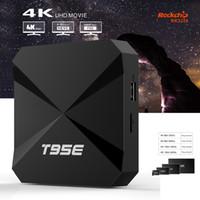 Wholesale Quad Core 1gb Ram Hd - T95E Android 4K TV Box Rockchip RK3229 Quad Core 1GB RAM 8GB Flash Support Full HD HDMI Wifi 4K Smart TV Box