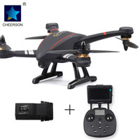 Wholesale Osd Control - CHEERSON 5.8G 4CH FPV 2.0MP Camera Drone GPS Brushless Quadcopter OSD Circle Surround Height Hold RC Drone Quad Toy Drone