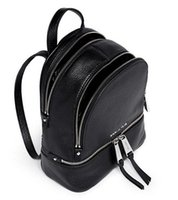 Wholesale Pu Leather Rucksack Backpacks - designer backpacks leather luxury black rucksack bag for women girl
