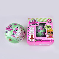 Wholesale Toy Rubber Eggs - 10cm 7.5cm Big LOL Surprise Dolls Series 2 with Full Functions and Original Packaging Dress Up Toys Baby Tear Change Egg Dolls