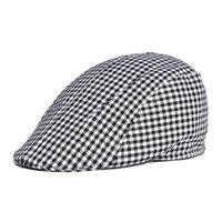 ingrosso berretti-All'ingrosso- Unisex Outdoor campeggio da viaggio a strisce di cotone Maschio Femmina primavera estate all'aperto berretto da sole cappello uomo donna berretti regolabili