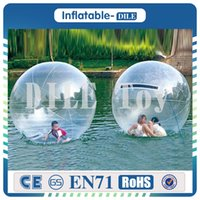 Wholesale fast ball for sale - Group buy And Fast Delivery M Fashionable Waterballs Design Super Quality Bubble Ride Inflatable Water Walking Ball