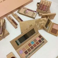 Wholesale Eyeshadow Lipgloss Set - Kylie Cosmetics Vacation Edition Collection Set Bundle eyeshadow+ lipgloss + highlighter Brand New in box DHL free