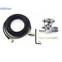 Wholesale Car Antenna For Walkie Talkie - Antenna Mount RB-400 for walkie talkie + 5M Clip mount cable mobile radio antenna SO239 connector Stainless steel Car antenna