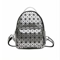 Wholesale Korean Small Backpack - 2017 Laser Splicing Shoulder Bag Female Korean Fashion Wild Casual Backpack Mini Small Bag 27