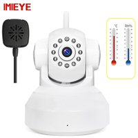 IMIEYE 720P HD Baby Monitor Wifi Camera IP Wireless Alarm IR CCTV Security Surveillance Карта памяти Температурный монитор влажности