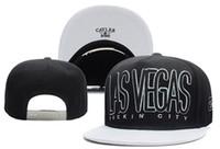 Wholesale Free City Brand - Black White Cayler & Sons LAS VEGAS FU*KIN' CITY Snap back Hats Adjustable Baseball Caps Casual Snapback Men Brands Street Hats TYMY 696