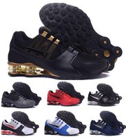 Wholesale China Latest Shoes - Latest Air Shox NZ Running Shoes Men Man Men's Red 807 Shoxs Current Fashion Trainers Original Shoes Zapatilla China Sports Sneakers Stores